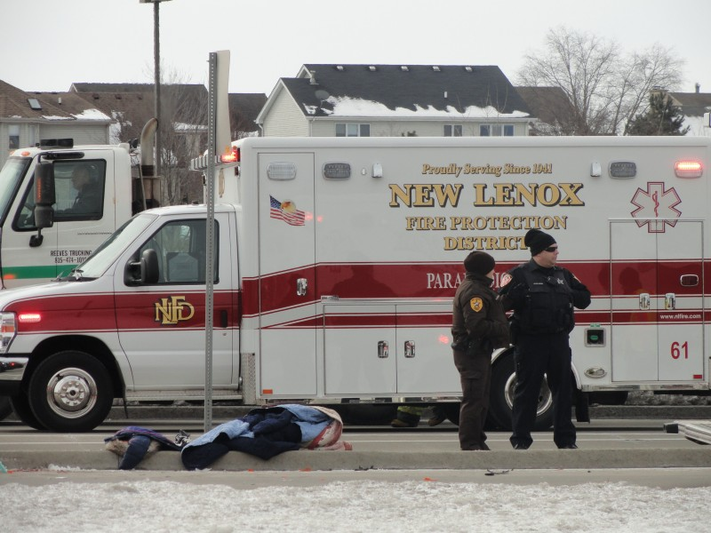 Pedestrian Struck By Truck In Front Of Lincoln Way Central
