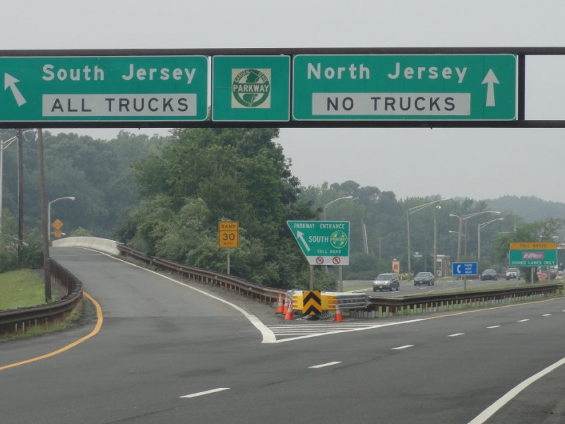 Garden state parkway closing from exit 129 to southern terminus freehold nj patch for Directions to garden state parkway south