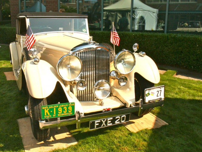 Kirkland Loses The Classic Car Show Concours D Elegance To Tacoma - Car shows in washington state