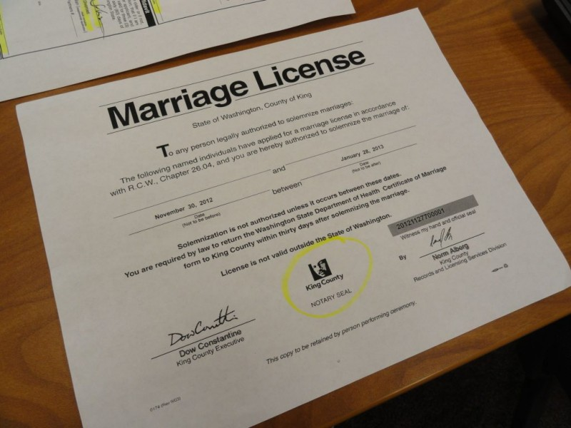 County Prepares To Issue Hundreds Of Marriage Licenses To Same Sex
