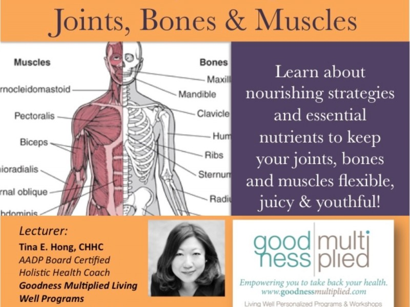 Healthy Eating For Joints Bones Muscles Montclair Nj Patch