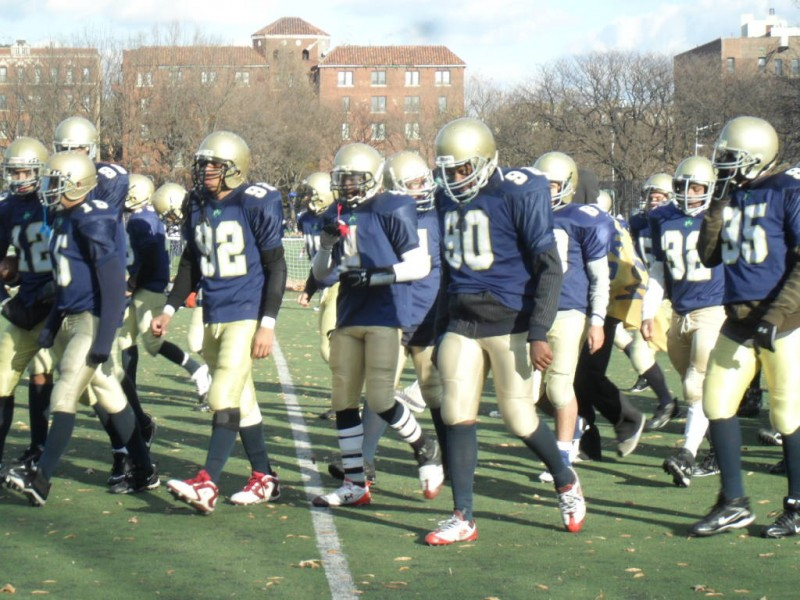 Queens Falcons Shutout By Brooklyn Skyhawks 24 0 Forest Hills Ny