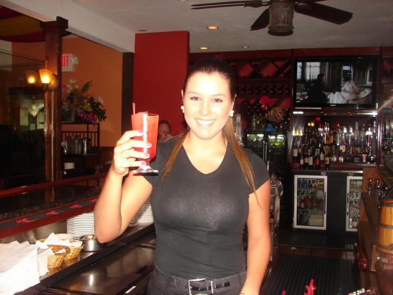 Hot Bartender, Cool Drink Brazilian Grill  Barnstable -6361