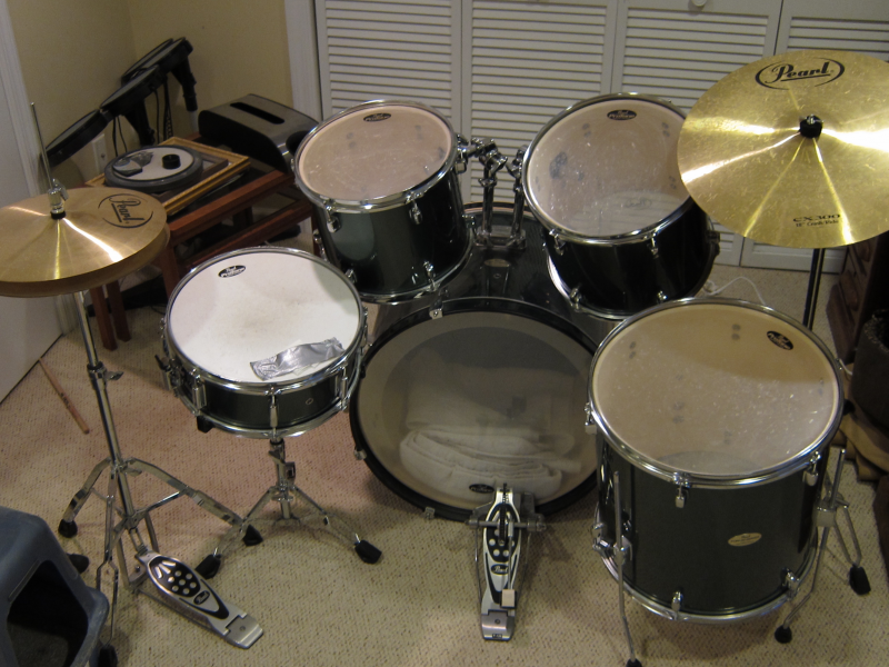 Pearl Drum Sets For Sale : pearl drum set for sale 450 ridgefield ct patch ~ Russianpoet.info Haus und Dekorationen