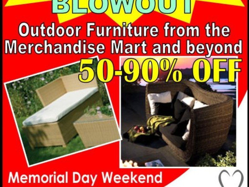 Memorial Day Weekend Tent Event 50-90% Off Outdoor Designer Furniture  sc 1 st  Patch & Memorial Day Weekend Tent Event: 50-90% Off Outdoor Designer ...