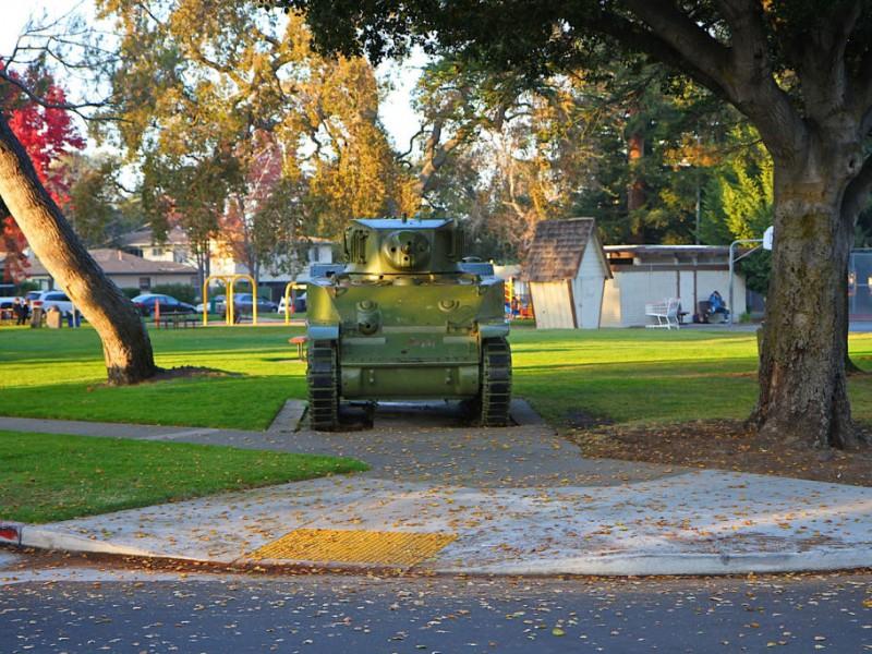 "Honda Redwood City >> Breakthrough in Hunt for ""Tank Park"" History | Redwood City, CA Patch"