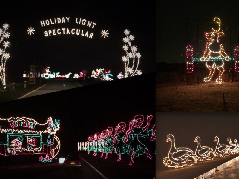 social photos long island lights up for the holidays - Jones Beach Christmas Light Show
