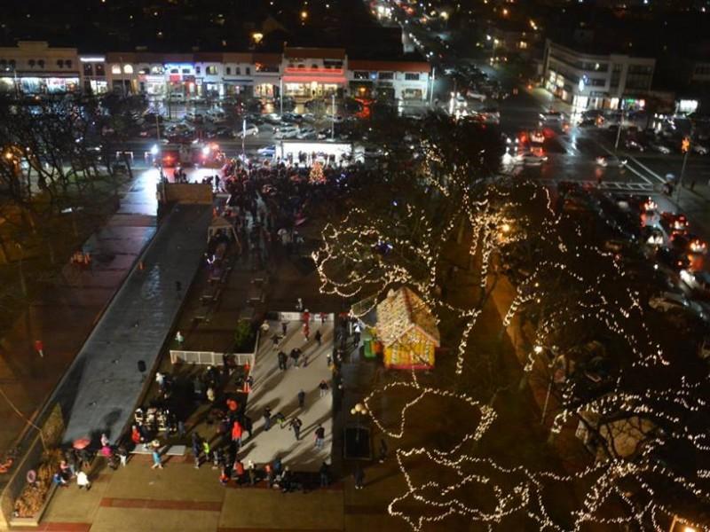 Long Beach Lights the Christmas Tree - Long Beach, NY Patch