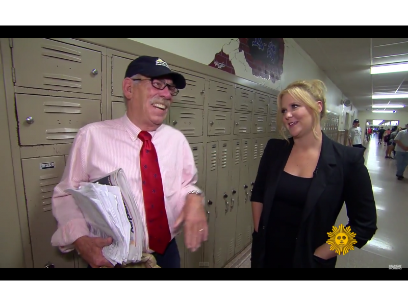 Amy Schumer Visits South Side High School Rockville