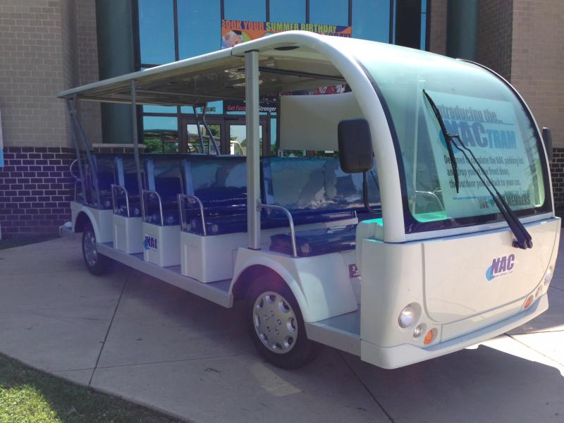 Nac To Debut Tram Service Newtown Pa Patch