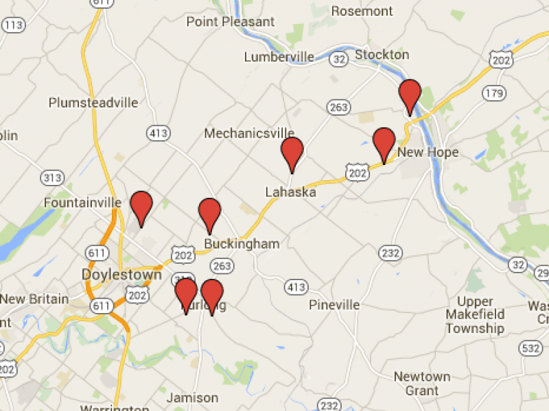 Buckingham Solebury 2015 Halloween Sex Offender Safety Map