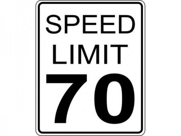 Image result for 70 mph speed limit