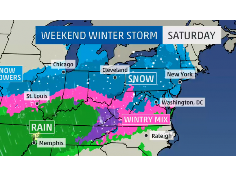 Record Cold, More Weekend Snow Headed Our Way