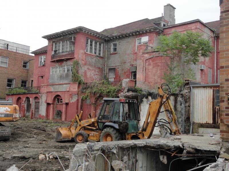 Historic House Part Of Demolition Plan At Former Riverside