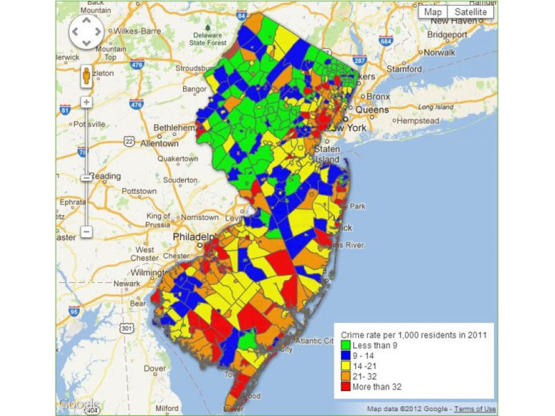 How Does Crime In Mahwah Pare To Neighboring Towns