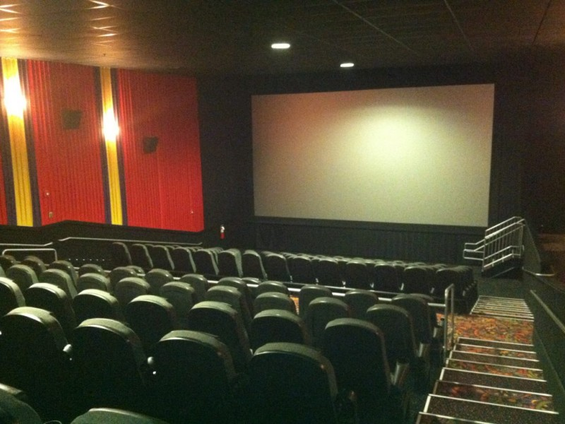 Regal cinema opens renovated theaters plymouth ma patch - Jersey gardens mall movie theater ...