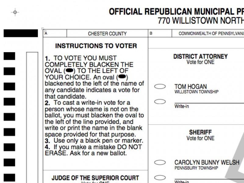 Sample ballots | kennett area democrats.
