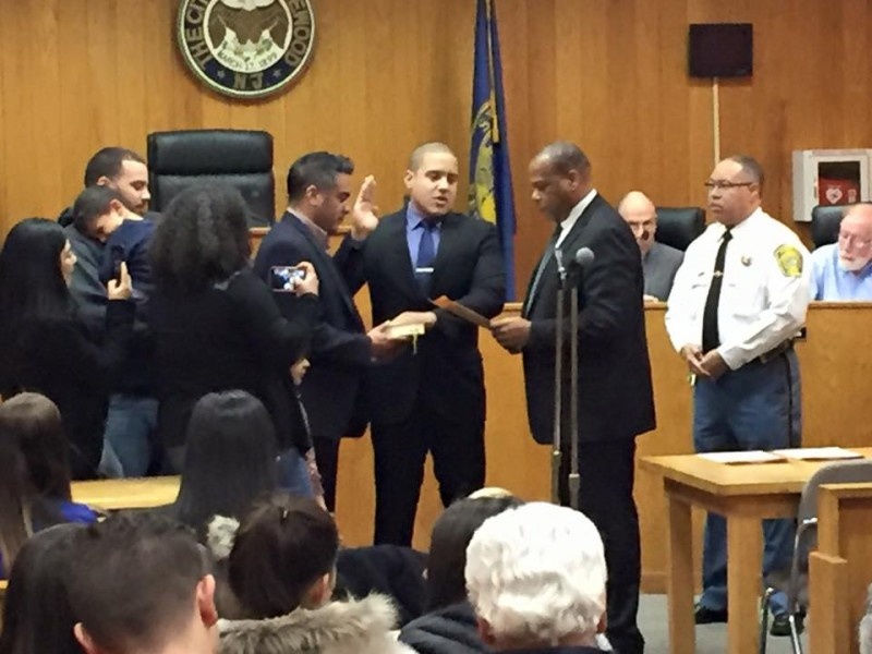 2 New Englewood Police Officers Sworn In Tuesday