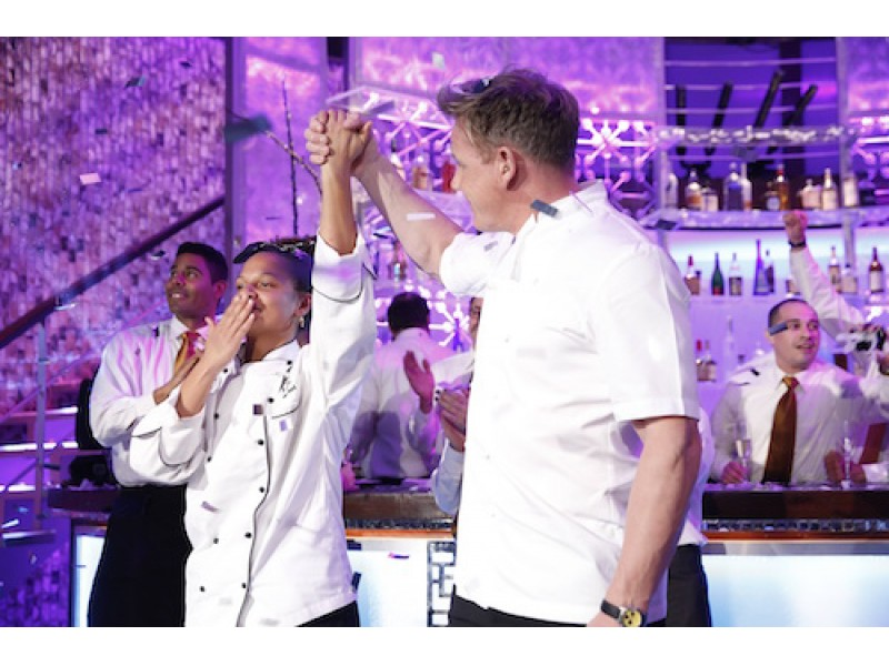 Winner Hells Kitchen Season