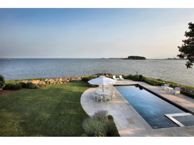 11 000 square foot mansion on long island sound shoreline - Long island swim school garden city ...