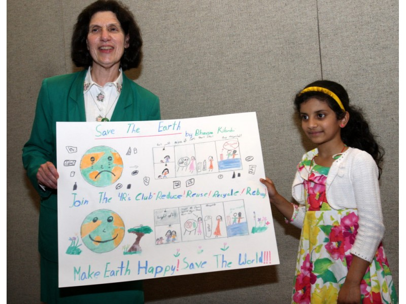 East Windsor Honors Earth Day Recycing Poster Contest Winners