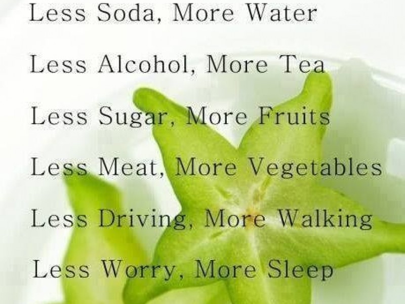 Rules for Healthy Living - by Dr Jeff Langmaid Brandon, FL Chiropractor