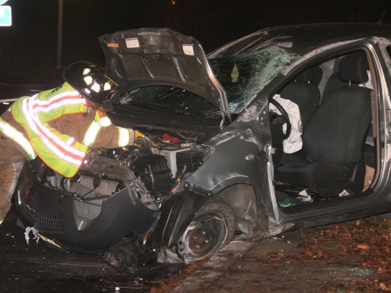 Man Trapped When Car Crashes on Route 206 [Video] | Lawrenceville ...