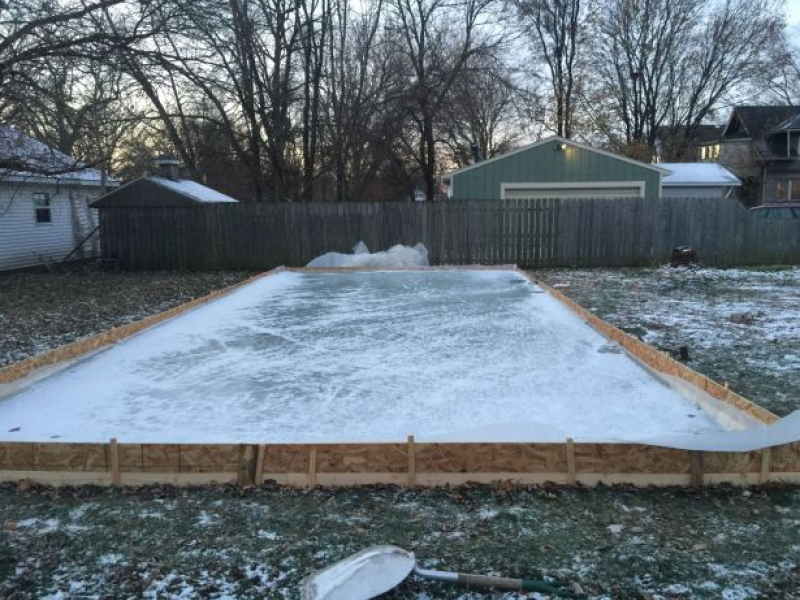 ... Build Your Own Backyard Ice Rink in 9 Easy Steps-0 ... - Build Your Own Backyard Ice Rink In 9 Easy Steps Burlington, MA Patch