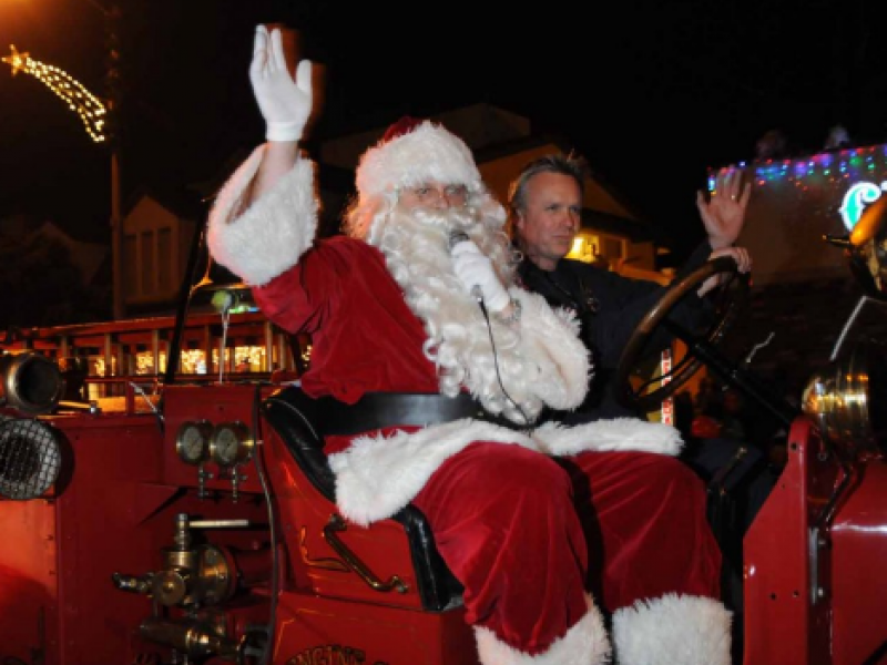 Santa claus is coming to town saturday dec. 5 wilmington ma patch