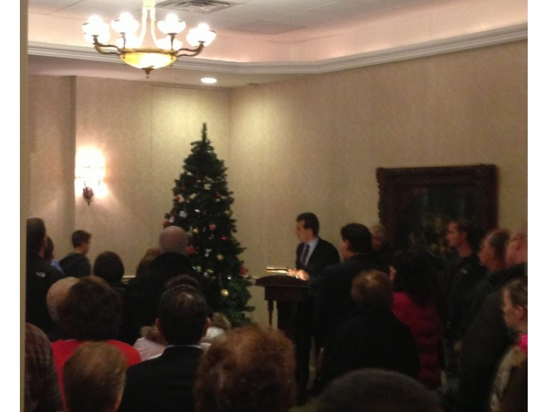 Loved Ones Remembered At Yorktown Funeral Home Tree Lighting