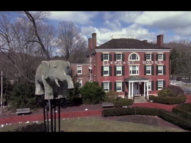 Somers Elephant Hotel Old Bet Featured On Travel Channel