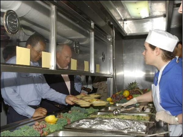 Navy Tales Life And Food Aboard An Aircraft Carrier Part