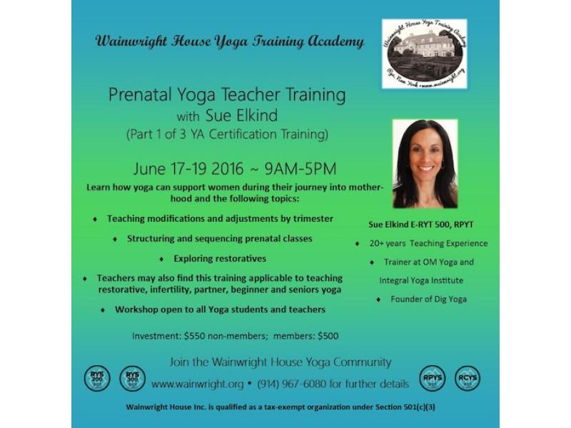 Prenatal Yoga Teacher Certification Scarsdale Ny Patch