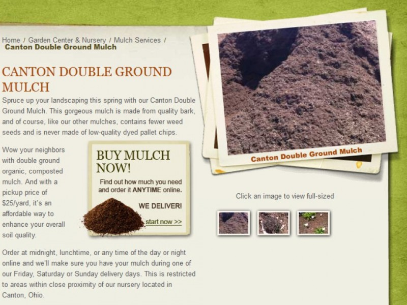 Rice S Nursery Launches Online Mulch Calculator With Great Offer North Canton Oh Patch