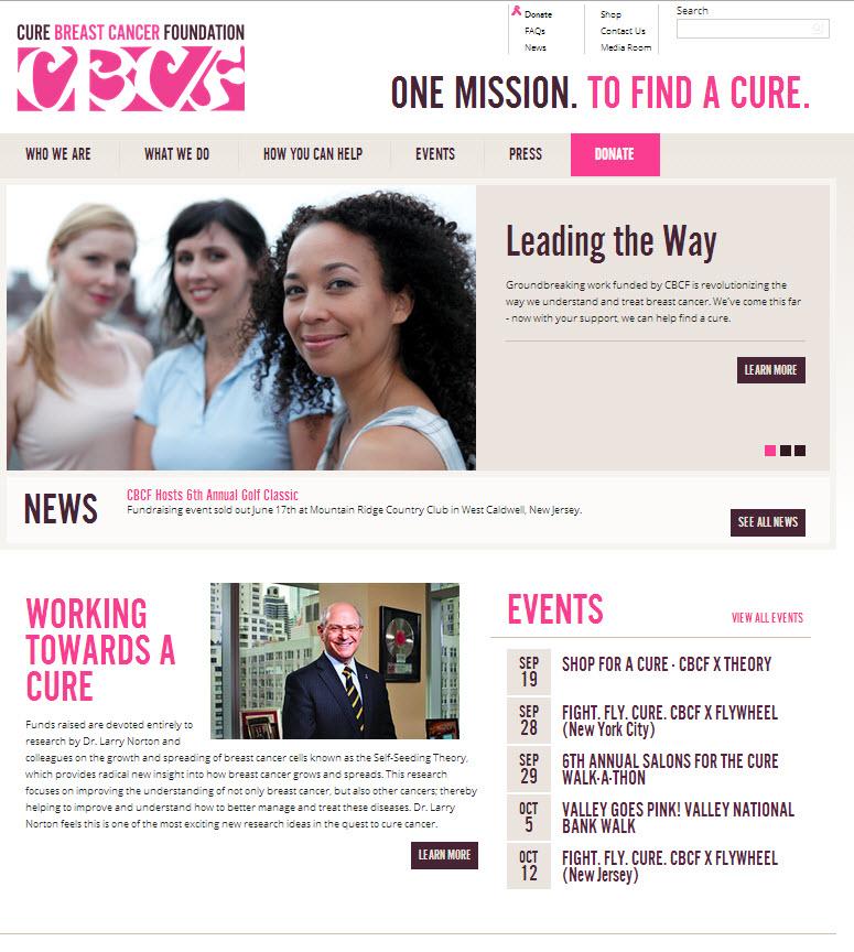 Much regret, breast cancer website