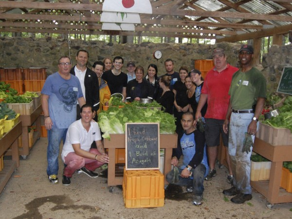 Westwood Resident Lewis Ware And The Lenox Hotel Team Volunteer For Food Project In Lincoln