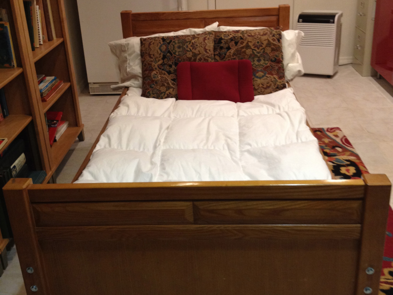 Stanley Solid Wood Twin Captain Bed With Night Stand 0