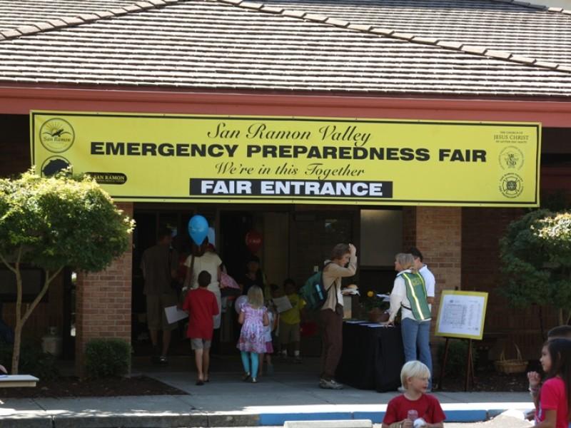 Hundreds Turn Out For Emergency Preparedness Fair San