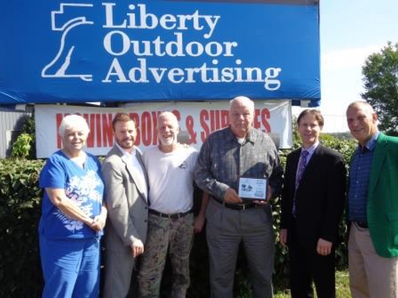 Liberty Outdoor Advertising U0026 Self Storage Is Recognized At The Crystal Lake  Chamber