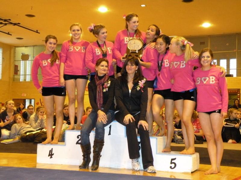 Blue Dukes Break School Record in Gymnastics Invite ...