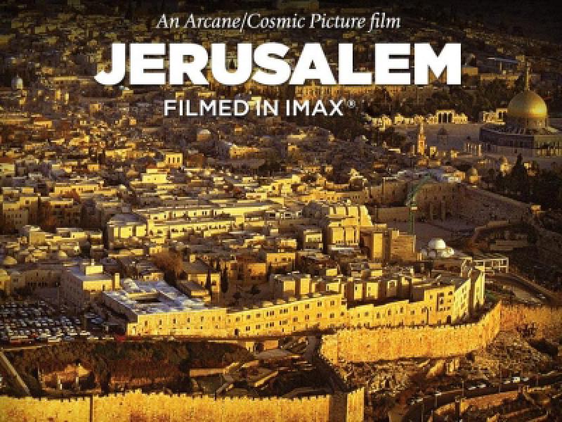 Jerusalem Coming Soon To Imax Theatre At Palisades Center