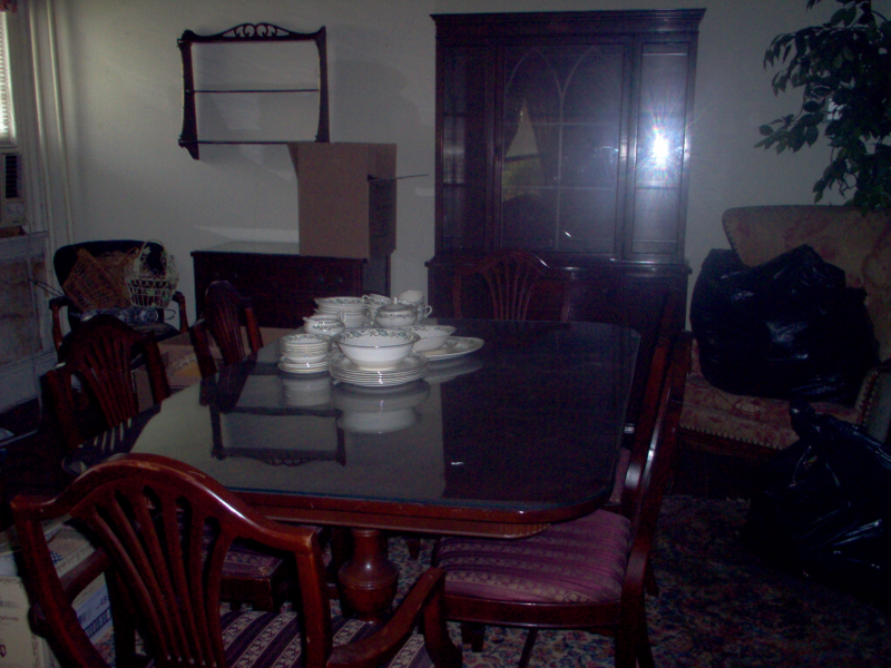 Mahogany Dining Room Set For Sale