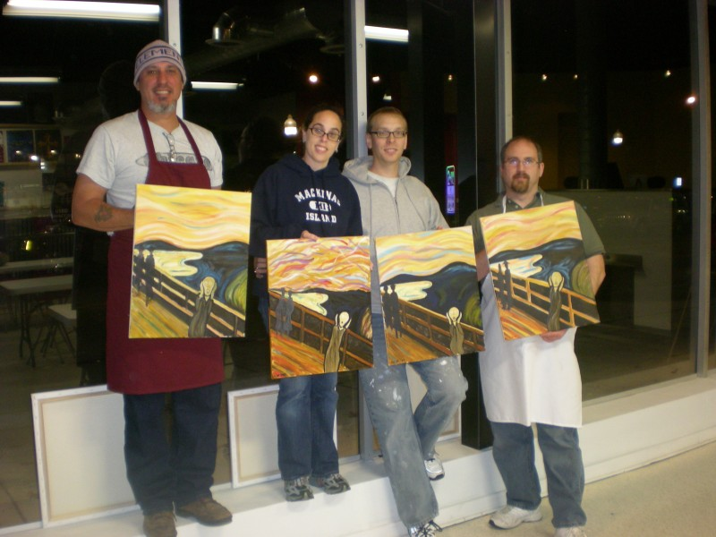 Painting With A Twist Owner Takes Risk Finds Success Ferndale Mi