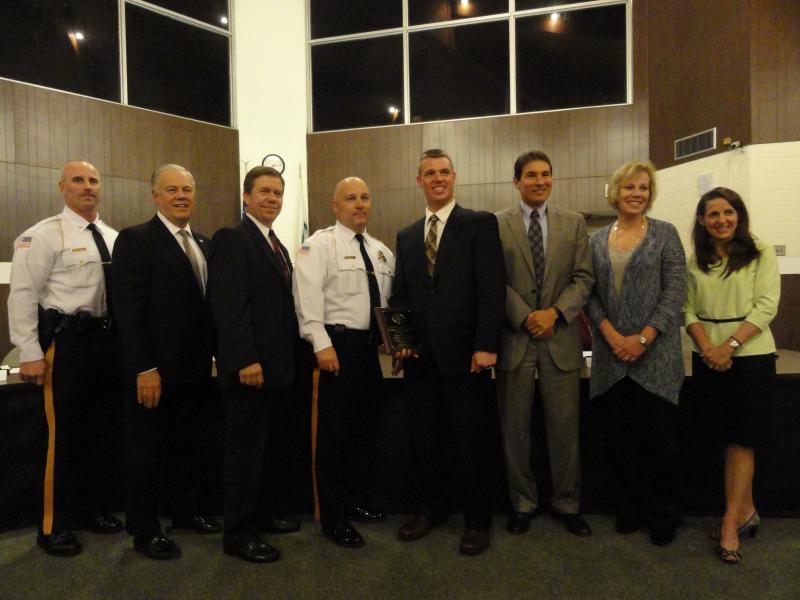 West Deptford Police Officer Honored For Scholastic Efforts 0