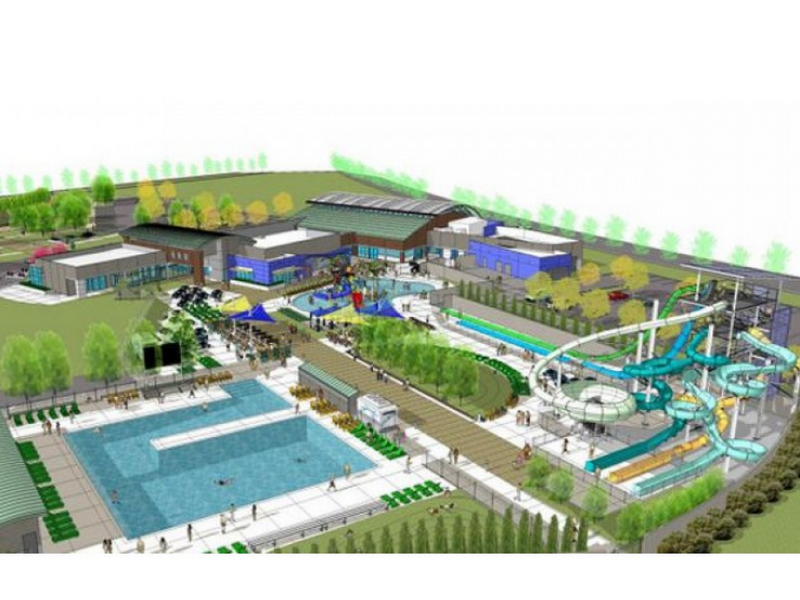 Dublin breaks ground on 33 million water park dublin ca patch Swimming pools in dublin city centre