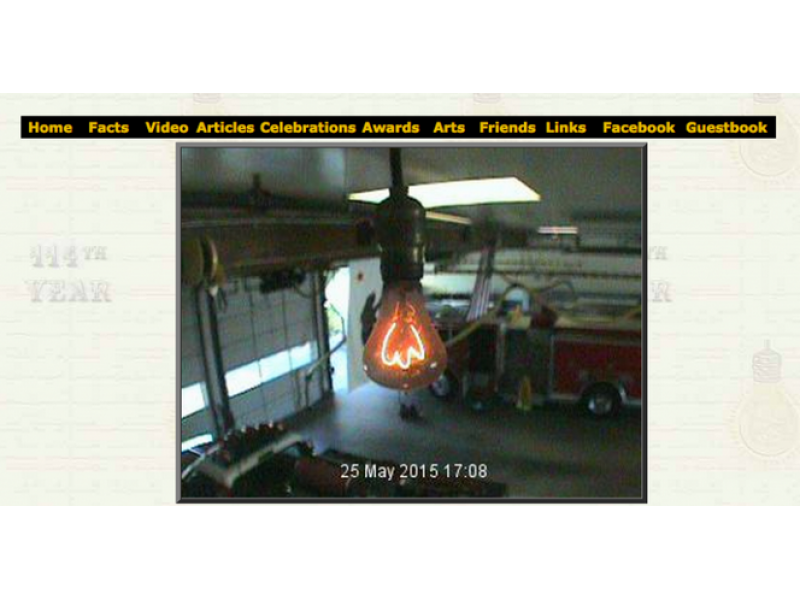 Centennial Light Bulb Celebrated At Livermore Fire Station Event