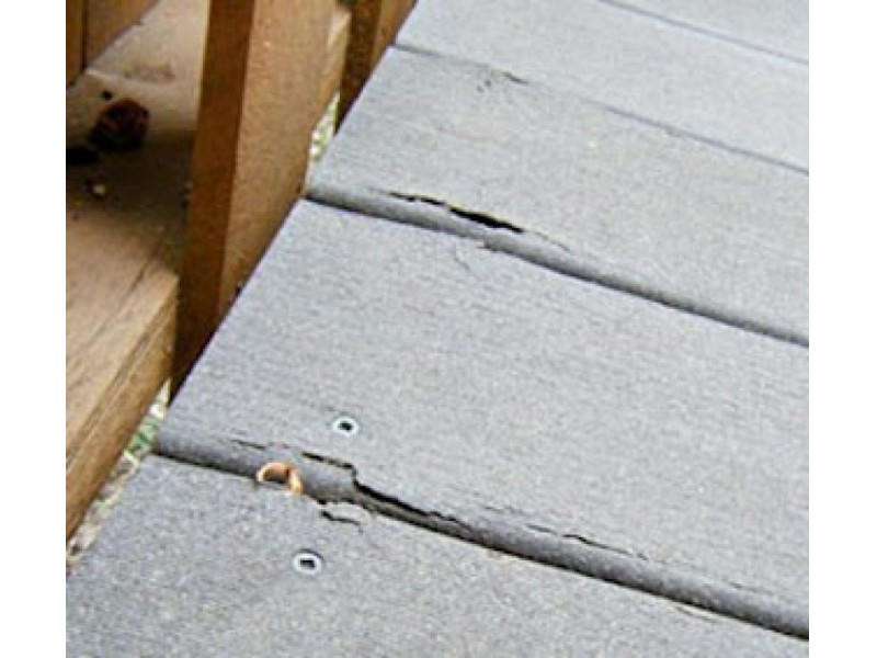 Some issues with composite decking newtown ct patch for Things to consider when building a deck