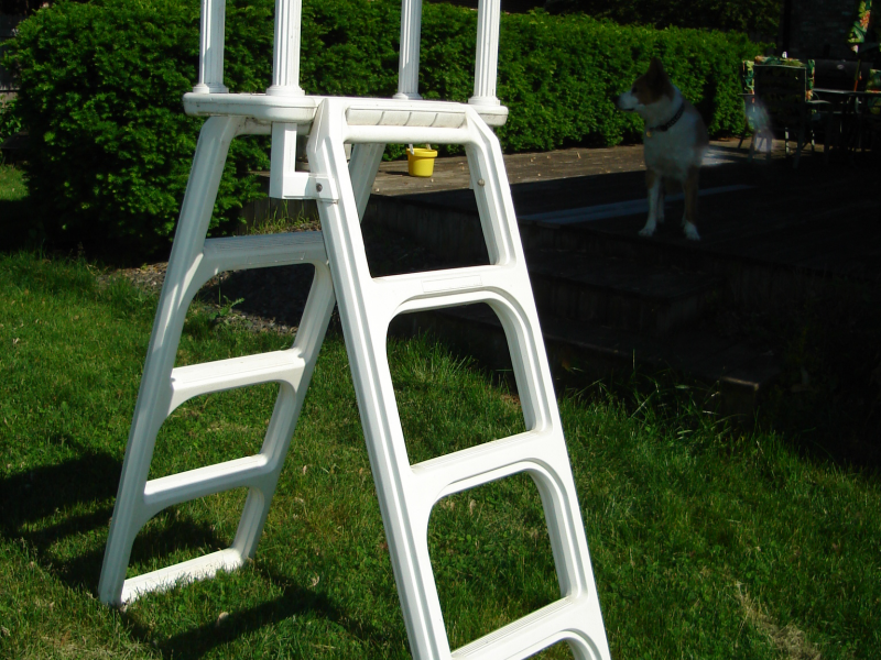pool ladder new lenox il patch