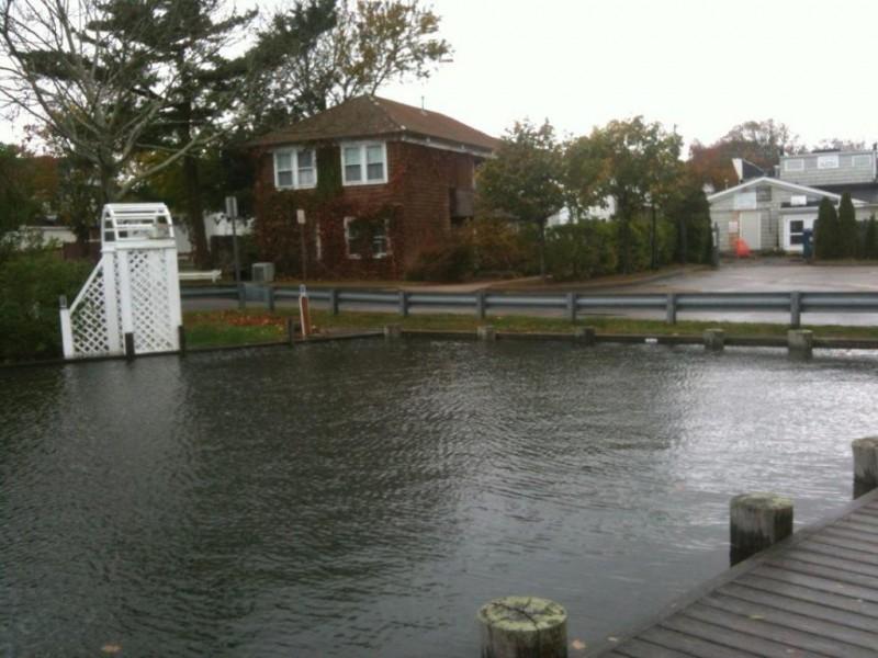 Photos Westhampton Beach Village Marina Flooded