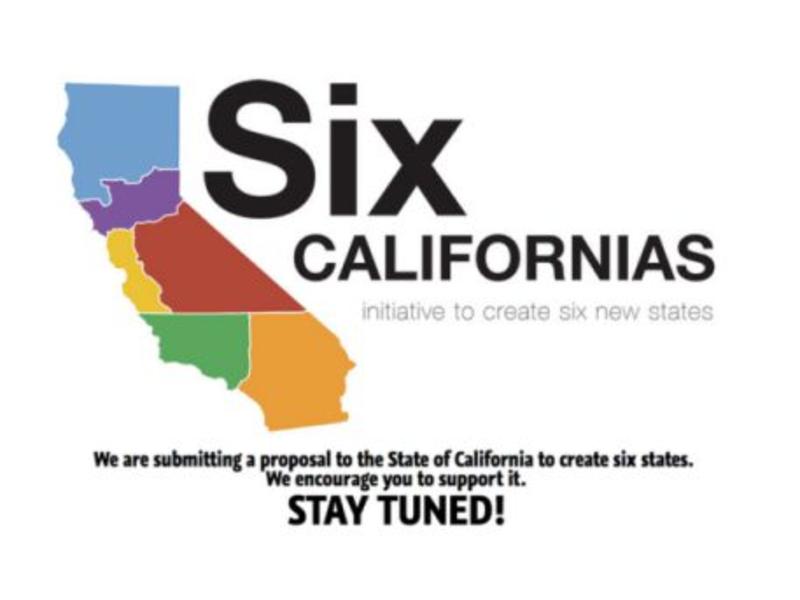 Bid To Split California Into 6 States Fails To Qualify For Ballot